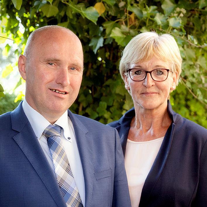 Anja de Wolff en Piet Hunse